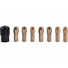 Kleštiny sada 8ks pr. 1-1,6-2-2,3-3-2x3,2mm