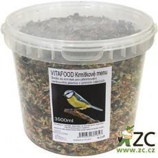 Krmítkové menu kbelík - 3500 ml