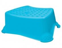 KEEEPER Stolička - schůdek protiskluzový 40,5 x 28,5 x 14 cm, modrý