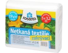 Neotex / netkaná textilie Rosteto - bílý 19g šíře 5 x 3,2 m