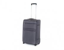 PRETTY UP Kufr cestovní TEX15, střední, šedý