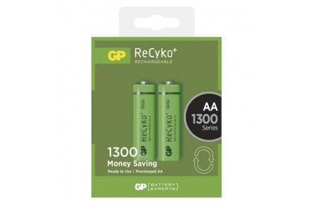 Nabíjecí baterie GP ReCyko+ 1300 (AA) - 2ks