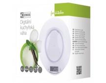 Digitální kuchyňská váha EV004, bílá
