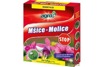 Agro Mšice - Molice STOP - 2 x 1,8 g