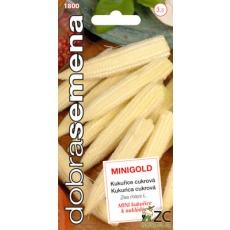 Dobrá semena Kukuřice cukrová - Minigold, baby kukuřička 3,5g
