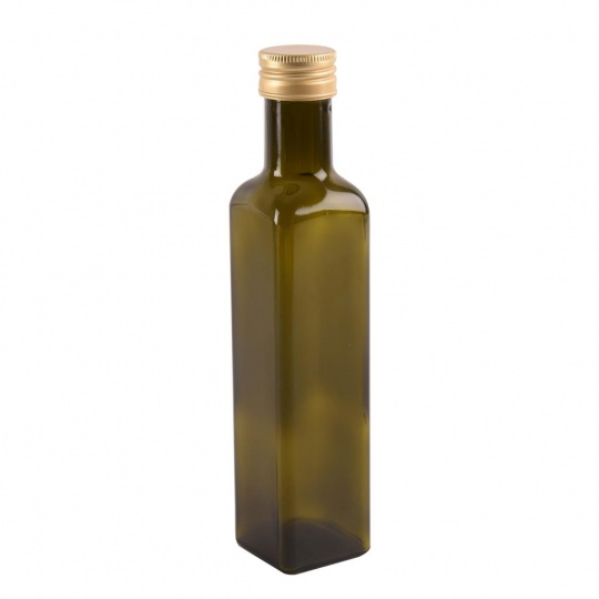 Láhev sklo+víčko Olej 0,25l