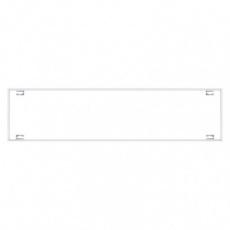 Rámeček pro LED panel 30×120cm, bezšroubový