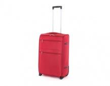 PRETTY UP Kufr cestovní TEX15, střední, červený