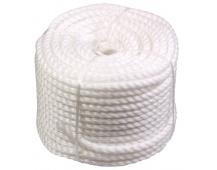 Silonové lano 10mmx50M bílé
