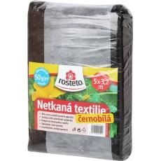 Neotex / netkaná textilie Rosteto - černobílý 50g šíře 5 x 3,2 m