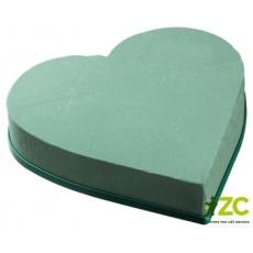 Aranžovací srdce plné 20 cm (Florex)