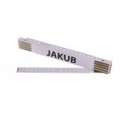 Skládací 2m JAKUB (PROFI, bílý, dřevo)