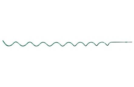 Spir.tyč k rajč.215cm/7mm,zelená kmx