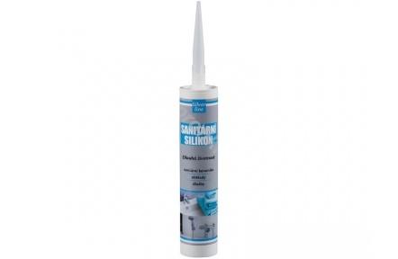 Sanitární silikon 310ml bílý SL