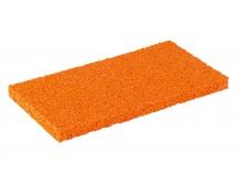 Houba hrubá oranž.  náhradní 250x130x12mm