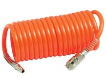 Spirálová vzduchová hadice 5Mx10mm, 8atm