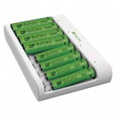 Nabíječka baterií GP Eco E811 + 4× AA 2100 + 4× AAA