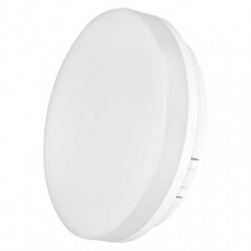 LED přisazené svítidlo TORI, kruhové bílé 15W teplá b., IP54
