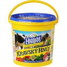 Kravský hnůj - 6 kg kbelík