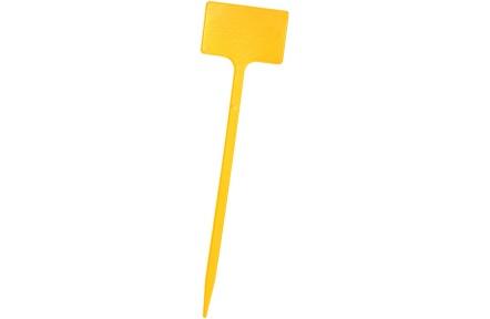 Jmenovka zapichovací SL 300 žlutá 30x7x5 cm rovná
