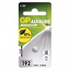 Alkalická knoflíková baterie GP 192F (LR41)