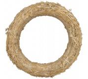 Kroužek slaměný - 20 cm